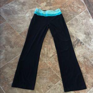 Ladies Size S Blk RBX Full Length Workout Leggings
